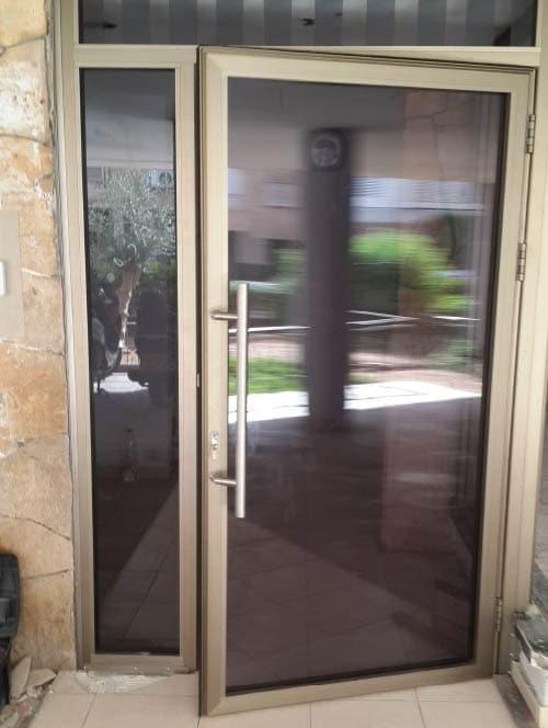 עבודות אלומיניום - דלתות בוריס